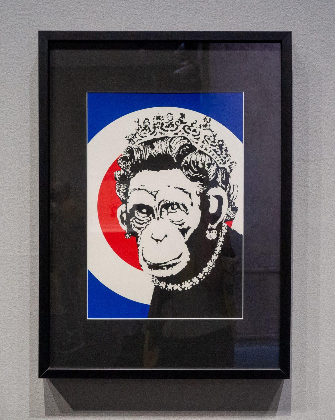 Monkey Queen Banksy