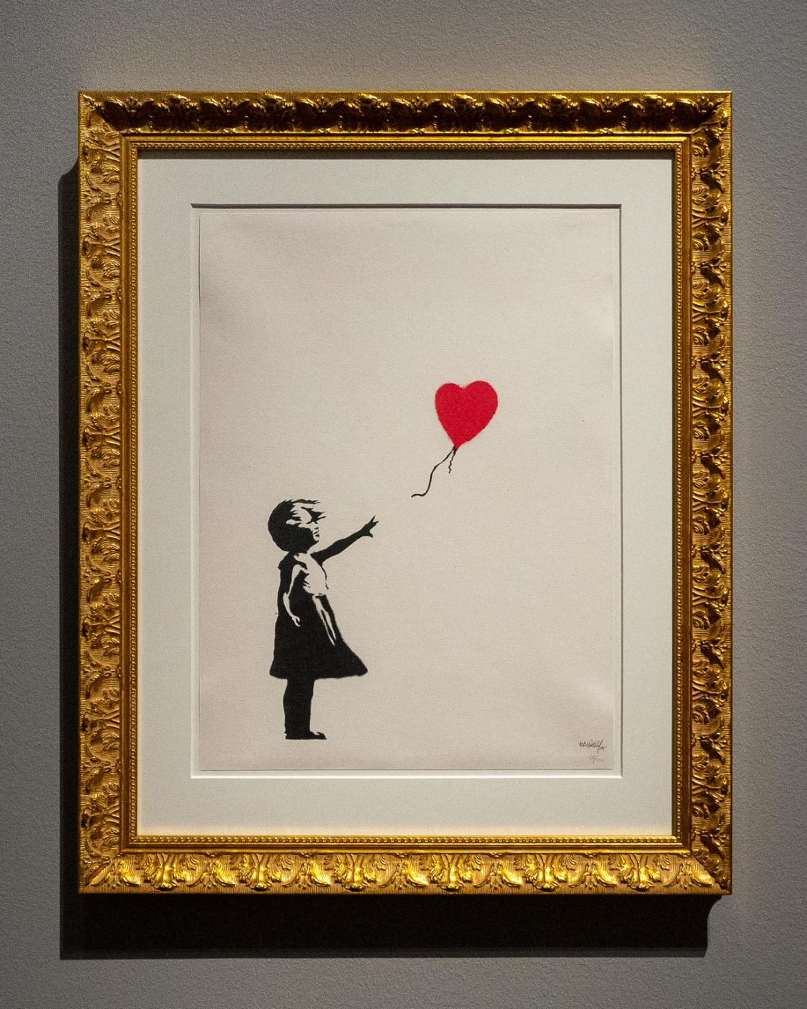 Girl with a balloon Banksy