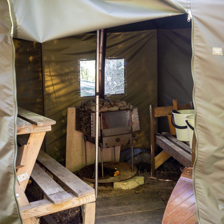 Kivinokka private sauna