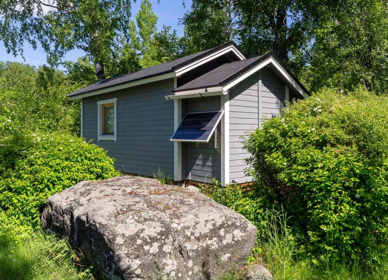 Kivinokka aurinkopaneli