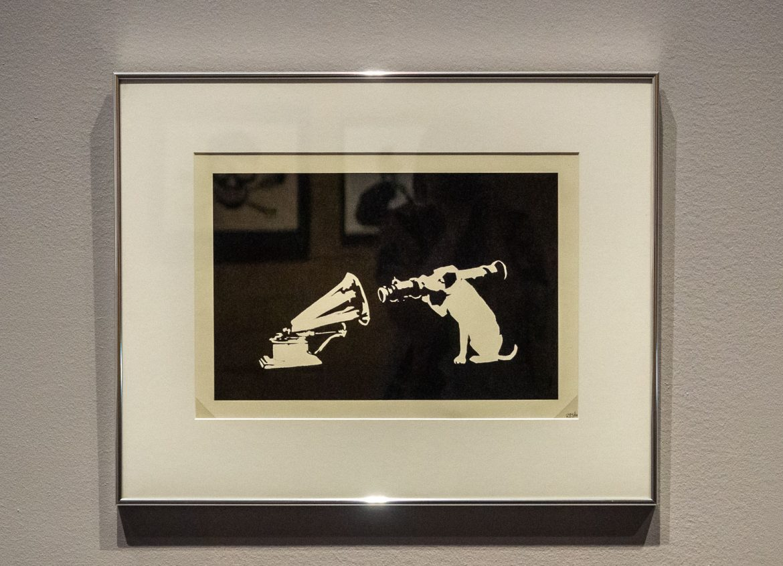 HMV Banksy. A Visual Protest