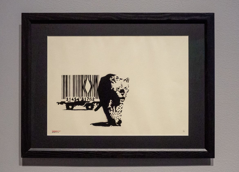 Barcode Banksy. A Visual Protest