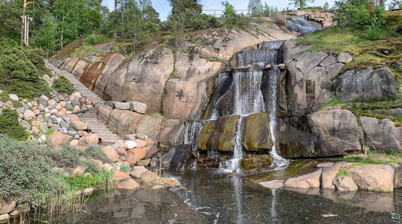 Sapokan vesipuisto Kotkan puistot