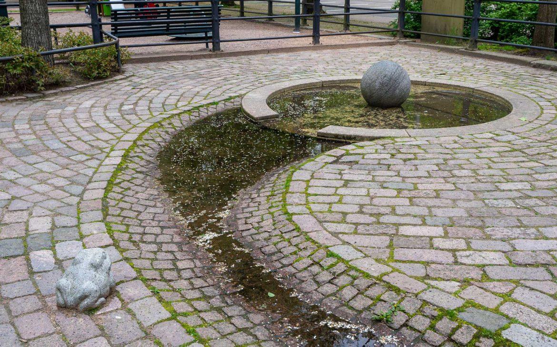 Sibelius Kotka Kotkan puistot
