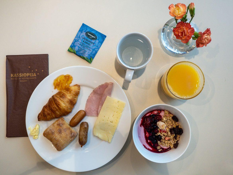 Hotel Matts aamiainen