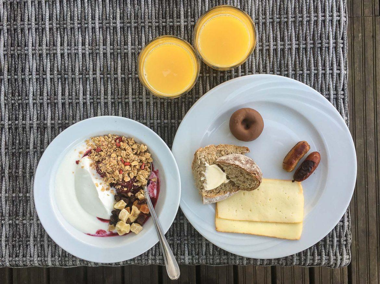 Kylpylän aamiainen