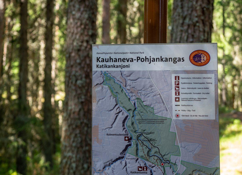 Katikanjoni Kauhaneva Pohjankangas Lauhanvuori