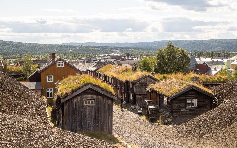 Rorosin vanhoja taloja