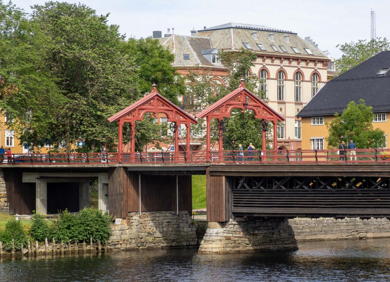 Gamle Bybro Trondheimin nähtävyydet
