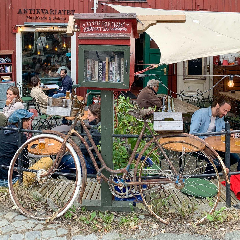 Bakklandet Trondheimin nähtävyydet