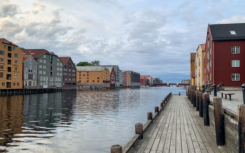 Nidelva Trondheimin nähtävyydet
