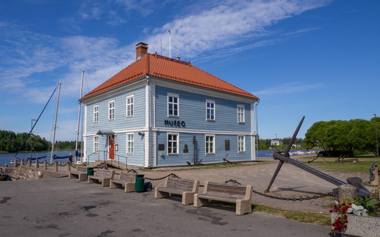 Pakkahuoneen museo Raahe