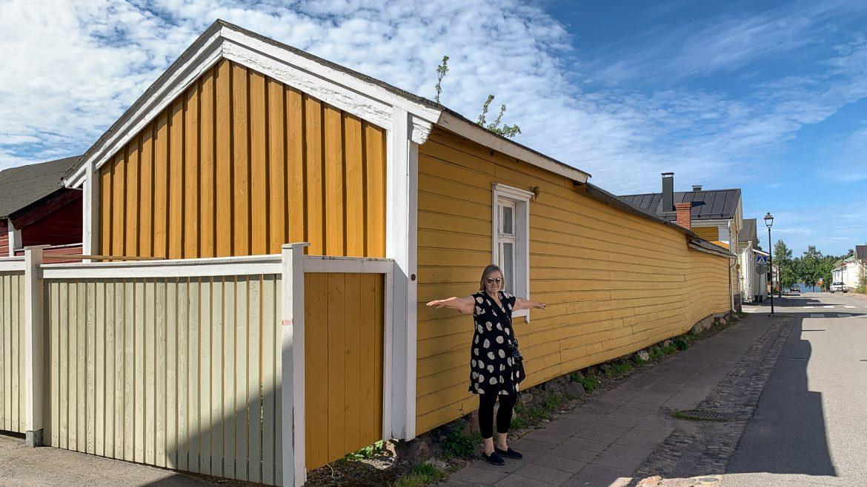 Suomen pisin seinä Raahe