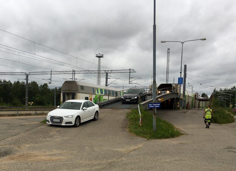 Rovaniemelle Reitti Rovaniemeltä Espooseen