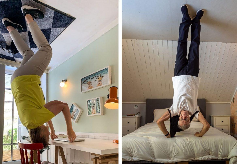 upside down house tartto