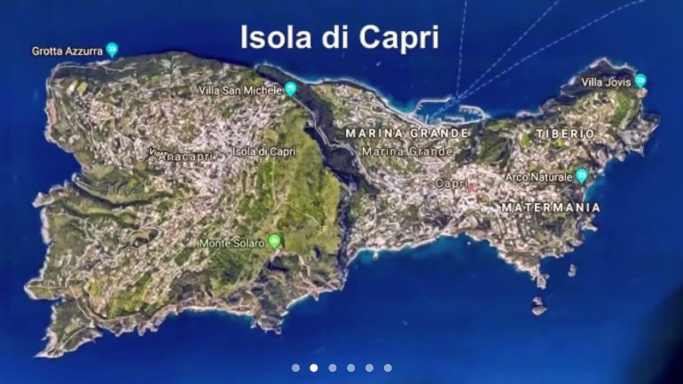 Capri virtuaalimatka