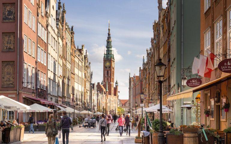 Gdanskin nähtävyydet vanha kaupunki
