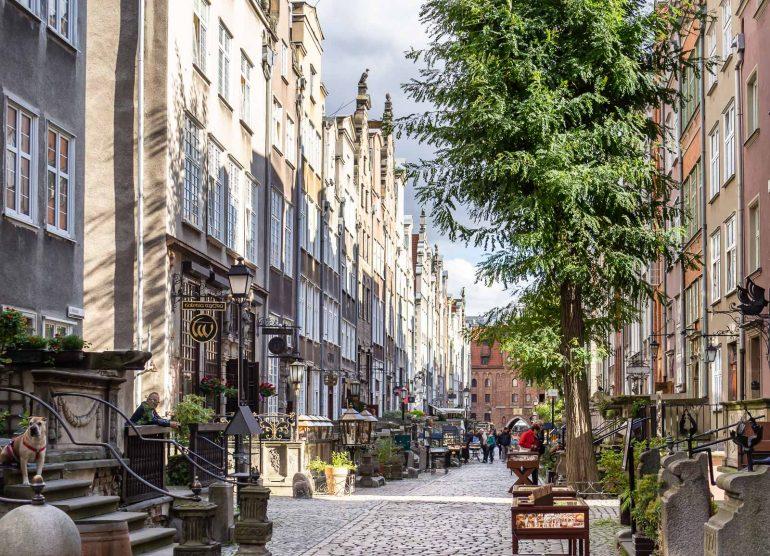 Gdansk vanha kaupunki