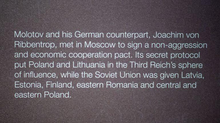 Ribbentrop Toisen maailmansodan museo Gdansk toinen maailmansota